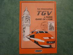 S.N.C.F. La Réservation TGV à PARIS-GARE DE LYON - Europe