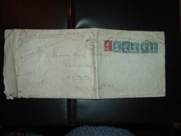 LR TP SEMEUSE 30c X5 + 20c OBL.15 1 25 PARIS 55 - 1906-38 Semeuse Camée
