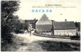 61 SAINT-GERMAIN-des-GROIS - Entrée Du Bourg Et Vue D'ensemble - France
