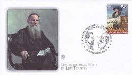 Vatikan, 2010, Leo Graf Tolstoi. Mi: 1682 - FDC