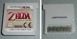 Jeu Pour Console Nintendo 3DS, ZELDA Ocarina Of Time 3D, Sans Boite Ni Notice, Retrogaming 3 Ds - Jeux électroniques