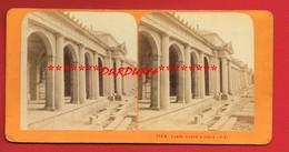 Photo Stéréoscopique Avant 1900 ... CAMPO SANTO à TURIN  ... - Luoghi
