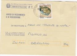 Avviso Di Ricevimento O Di Riscossione,anno 1986 - 1946-.. République