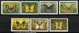 1995 - UZBEKISTAN  - Mi. Nr. 85/91 + 92 - NH - (CW2427.25/26) - Uzbekistan