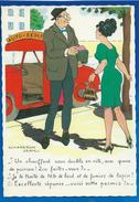 FEMME... BAS COUTURE...AUTO ECOLE..ILLUSTRATEUR CHAPERON JEAN........ C2151 - Célébrités D'époque < 1960