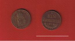 Autriche  --  1 Kreuzer  1816 A  --  état  TTB - Autriche