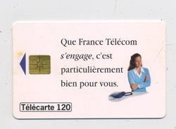 FRANCE -  FRANCE TELECOM - 120 U - France