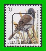 BUZIN - PRE 821** Bruant Des Roseaux / Rietgors - Sobreimpresos 1986-..(Aves)