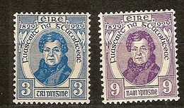 Irlande Ireland 1929 Yvertn° 56-57 (*) MLH Cote 17,25 Euro - Unused Stamps