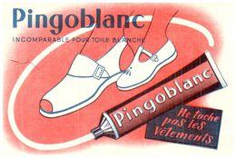Cr PB/Buvard Creme Pingoblanc  (N= 1) - Buvards, Protège-cahiers Illustrés
