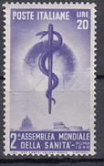 Talia - 1949 - 2° Assemblea Mondiale Della Sanità ** - WHO