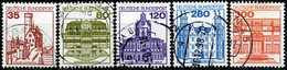 BRD - Michel 1139 A / 1143 A - OO Gestempelt (D) - Burgen & Schlösser V - Gebraucht