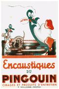 E P/Buvard Encaustique Pingouin (N= 1) - Blotters