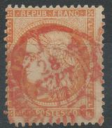 Lot N°33989   N°38, Oblit Cachet à Date Des Imprimés ROUGE - 1870 Siege Of Paris