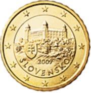 Slovakije 2017     10 Cent      UNC Uit BU  UNC Du Coffret  !! - Slovaquie