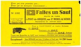 G M D/Buvard Gaz Morel & Dubos (N= 1) - Electricité & Gaz