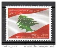 Lebanon 2013 MNH - Independence Day - Lebanese Flag - Libanon