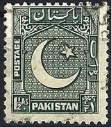 Pakistan 1948 - Coat Of Arms ( Mi 28 - YT 28 ) - Pakistan