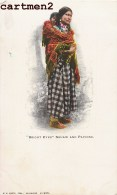 """"""" BRIGHT EYES """" SQUAW AND PAPOOSE INDIA NATIVE AMERICANS MILWAUKEE INDIOS INDIENS D'AMERIQUE 1900 - Indiens De L'Amerique Du Nord"""