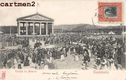 GUATEMALA TEMPLO DE MINERVA 1900 - Guatemala