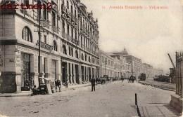 CHILE CHILI VALPARAISO AVENIDA ERRAZZURIS ESTABLECIMENTOS AMERICANOS GRATRY - Chili