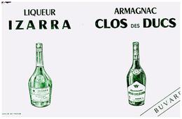 L I/Buvard Liqueur Izarra (N= 1) - Liqueur & Bière