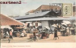 SOERABAJA PASSAR PABEAN MARKET INDRAMAJOE NEDERLANDSCH INDIE INDONESIE INDONESIA 1900 JAVA NEDERLAND COLONIE - Indes Néerlandaises