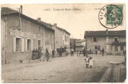 COURS Et BUIS  ( Isere )  LA PLACE - Francia