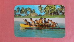 Fiji Children Canoeing      -2466 - Fiji