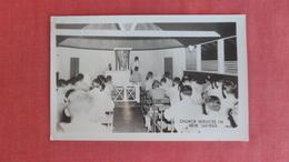 RPPC  Church Service New Guinea    -2466 - Postcards