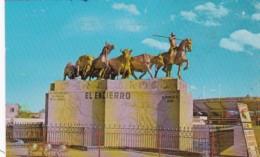 Mexico Juarez Monumento El Encierro 1979