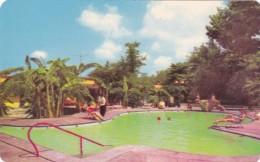 Mexico Ciudad Valles Hotel Covadonga Sulphur Water Swimming Pool