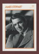 Photo De  JAMES STEWART  De 1950  - ETATS-UNIS  - Biographie Au Dos - Papier Glaçé - Voir Les Scannes Face & Dos - Reproductions