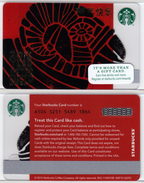 Starbucks - USA - 2014 - CN 6104 SB48 2015 Year Of The Sheep - Gift Cards