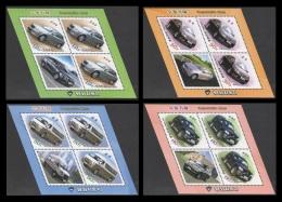North Korea 2016 Mih. 6274/77 Cars Of Pyeonghwa Motors (4 M/S) MNH ** - Korea, North