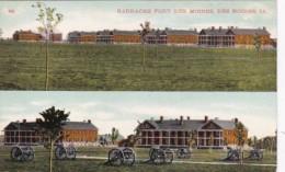 Iowa Des Moines Barracks At Fort Des Moines - Des Moines