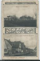 AK 0605  Jöhlingen ( Walzbachtal ) - Bahnhof Mit Wirtschaft /Haus V.  Friseur Gustav Segenwitz 1900-1910 - Karlsruhe
