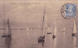 29. BREST. CPA. LA RADE UN JOUR DE REGATES. ANNÉE 1930 - Brest
