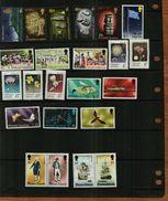 PITCAIRN ISLANDS - 1971-1976 - QEII - Commemoratives - MNH - 23 Stamps - Pitcairn Islands