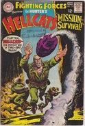 HELLCATS N. 113 MAGGIO-GIUGNO 1968 (310112) - Libri, Riviste, Fumetti