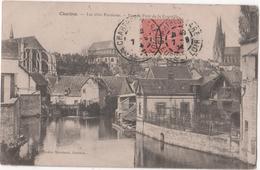 CHARTRES - ( Eure Et Loire ) - Les Trois Paroisses - Vue Du Pont De La Courtille - Chartres