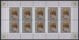 !a! GERMANY 2010 Mi. 2784 MNH SHEET(10) -Jewish Wedding Ring - Blocks & Sheetlets