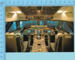Avion, Airplane - Cockpit B747 - 400, Japan Air Lines - 2 Scans - 1946-....: Modern Era