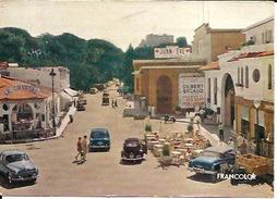 Antibes Juan Les Pins Le Casino Avec Affiche Gilbert Bécard 1973 - Juan-les-Pins