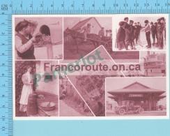 Ontario  -  Francoroute, Publicité Advertising Multivues Multiview - 2 Scans - Cartes Postales