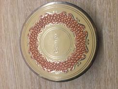 Boite Poudre GEMEY Chair Dorée - Produits De Beauté
