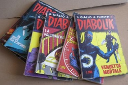 20 LIBRETTI DIABOLIK COSTA BIANCA  NUMERI   DIVERSI (171215) - Books, Magazines, Comics