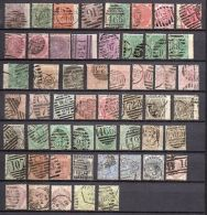 GB VICTORIA ALL DIFFERENT SURFACED PRINT USED STAMP COLLECTION $2900 - Stock - 1840-1901 (Victoria)