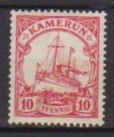 GERMANIA COLONIA KAMERUN 1905-14  SOGGETTI DIVERSI YVERT. 21 MLH VF - Kolonie: Kamerun