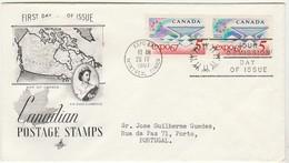 Cover FDC * Canada * 1967 - 1961-1970